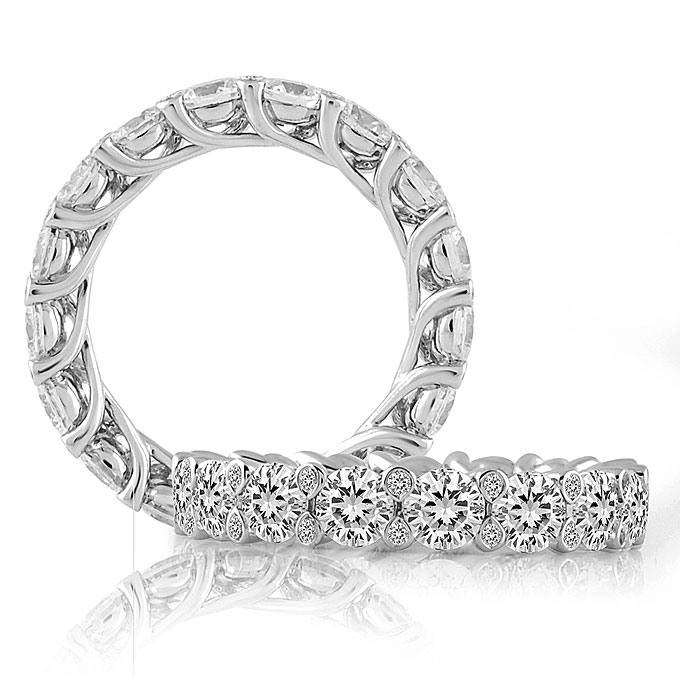women womens crescent s back diamond marquise rings band importers wedding tacori sculpted collection mervis womans bands