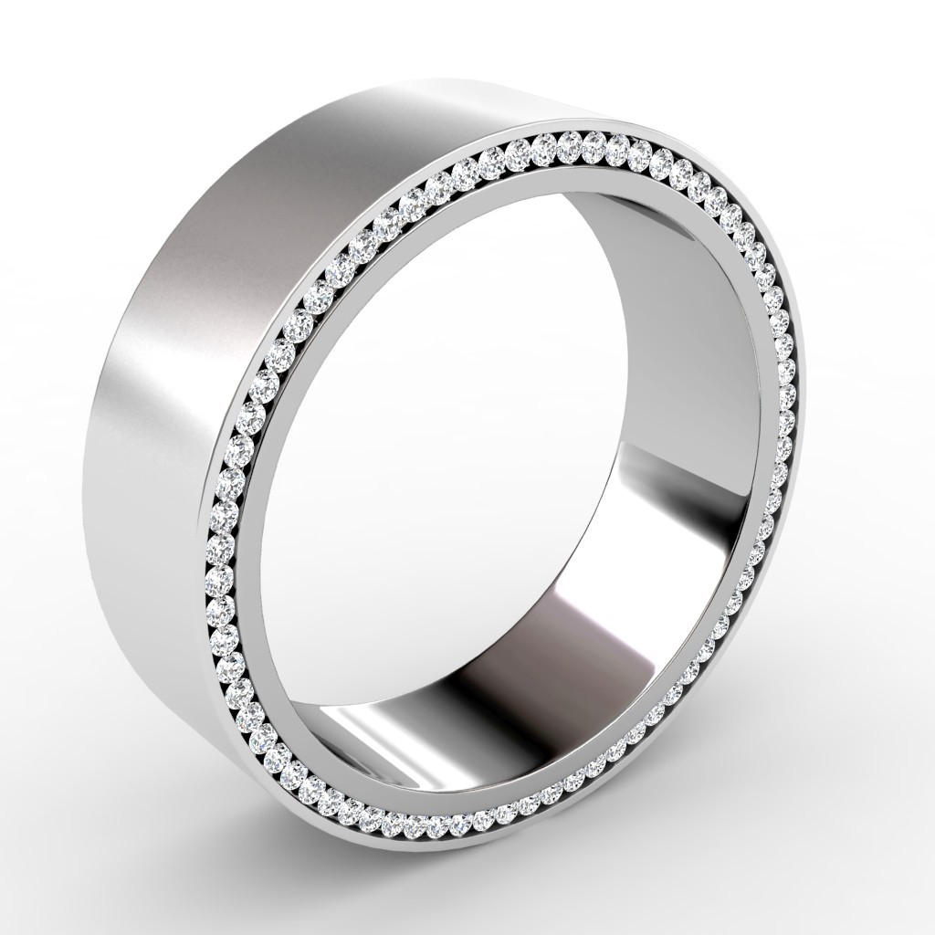 Bold Bands} Unique Mens Wedding Rings | Wedding ring, Men wedding ...