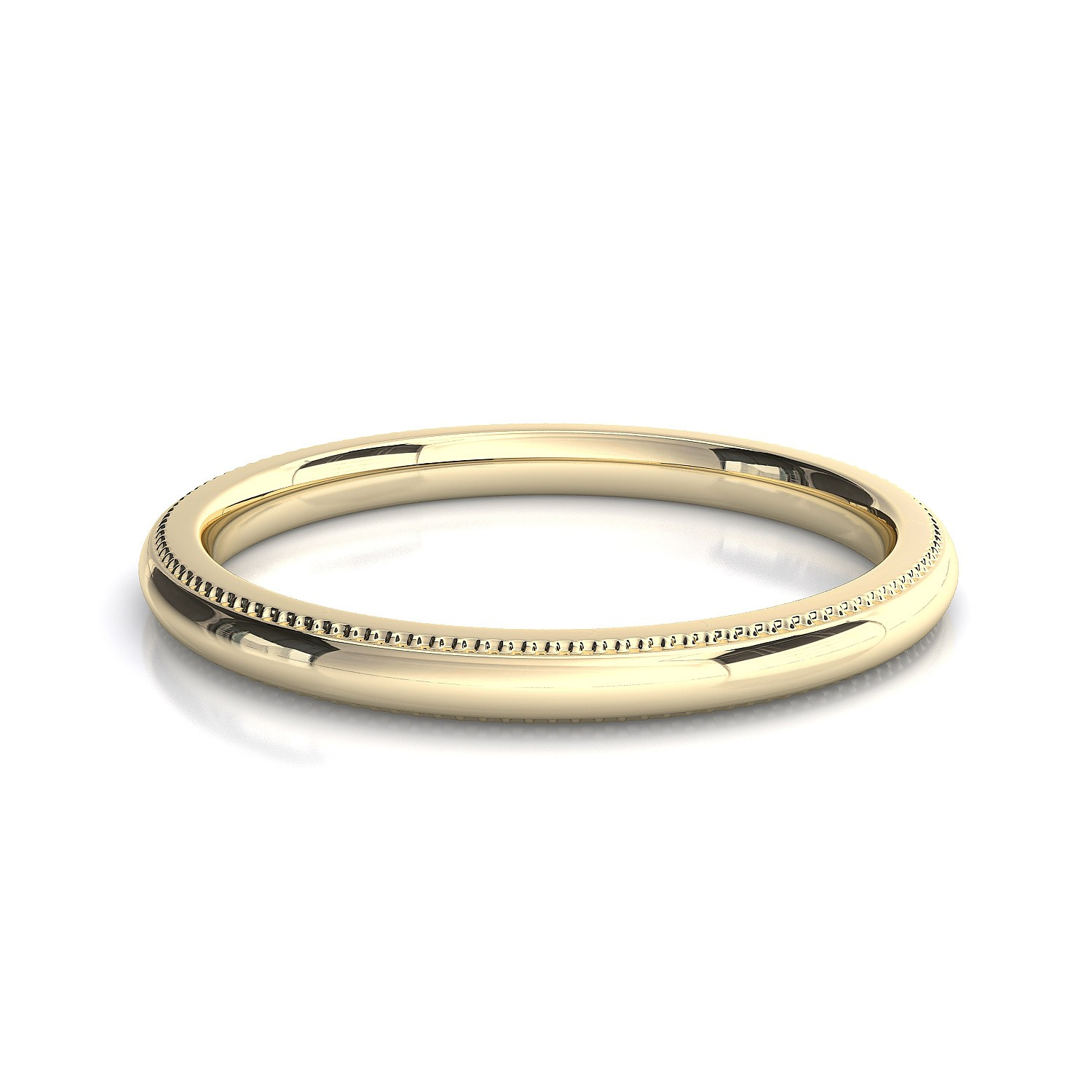 Millgrain Edge Wedding Band Toronto Custom Jewellery